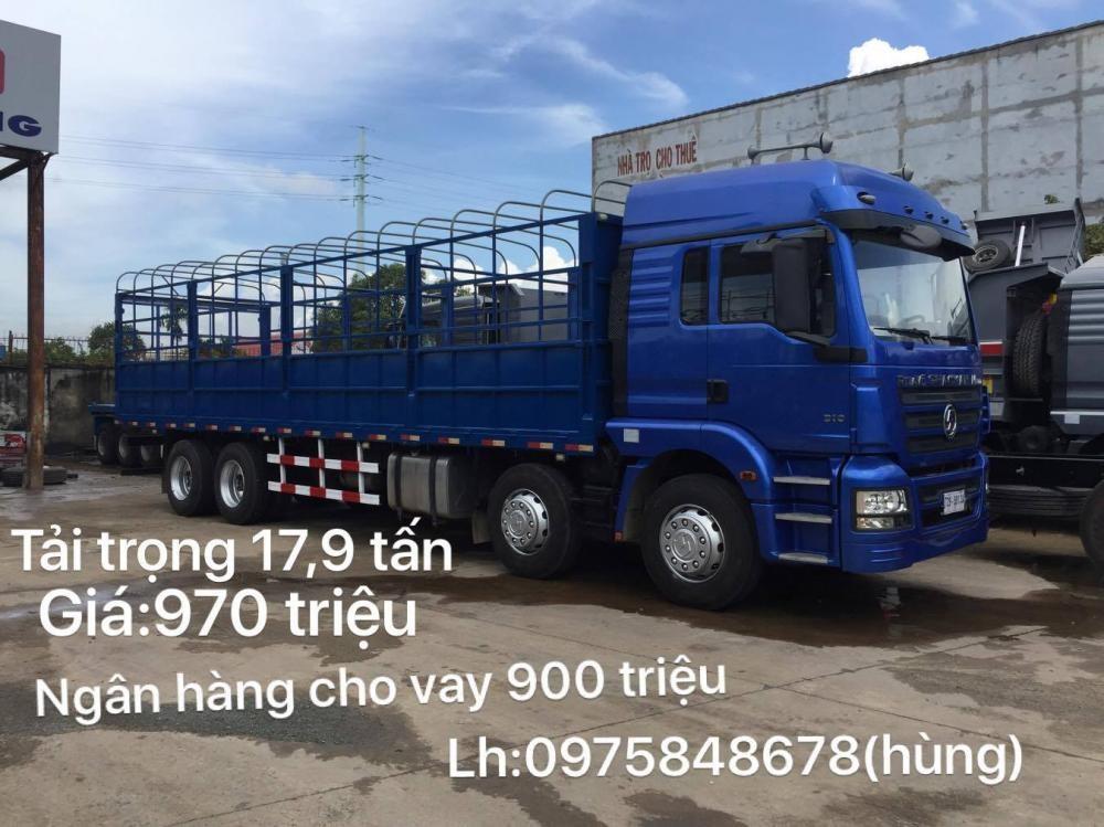 Xe tải thùng Shacman 17,97 tấn giá rẻ