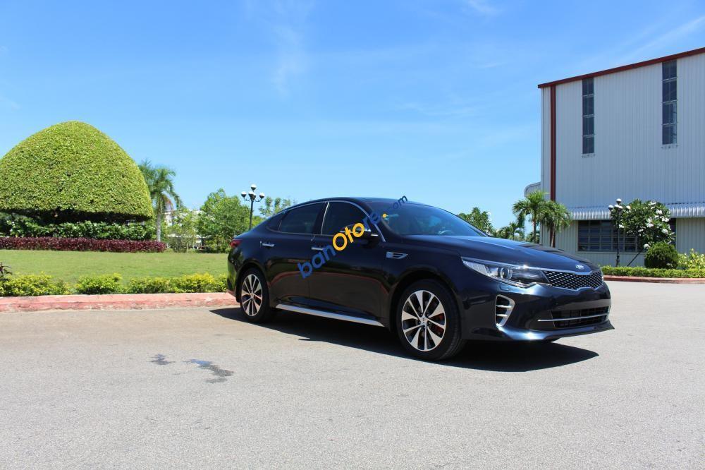 Bán Kia Optima 2.0 AT sản xuất năm 2017, màu đen