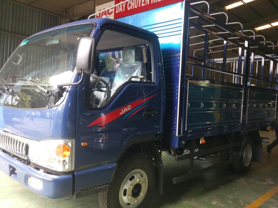 Bán xe tải JAC 1.25 tấn, động cơ Isuzu