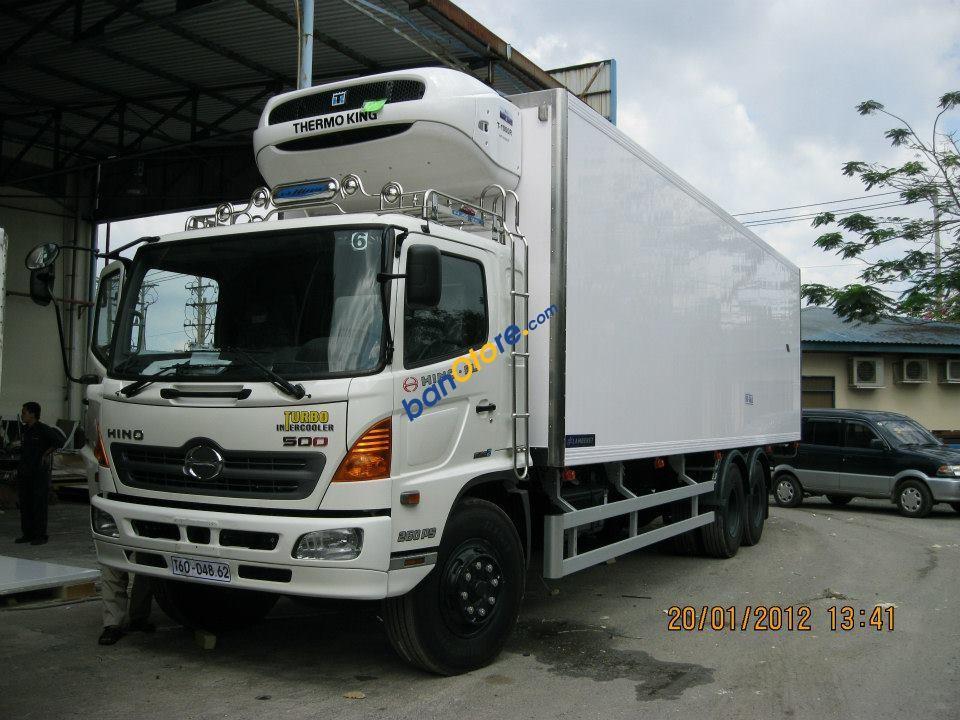 Bán xe tải Hino FL, 3 chân, 16 tấn, thùng dài 9.4m