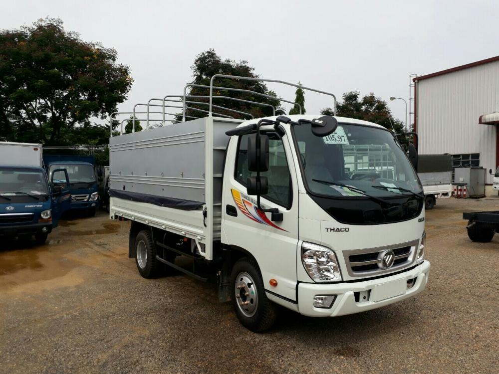 Giá xe tải Ollin 5 tấn Thaco Trường Hải, mới nâng tải 2017, LH Mr Vinh: 0982536148