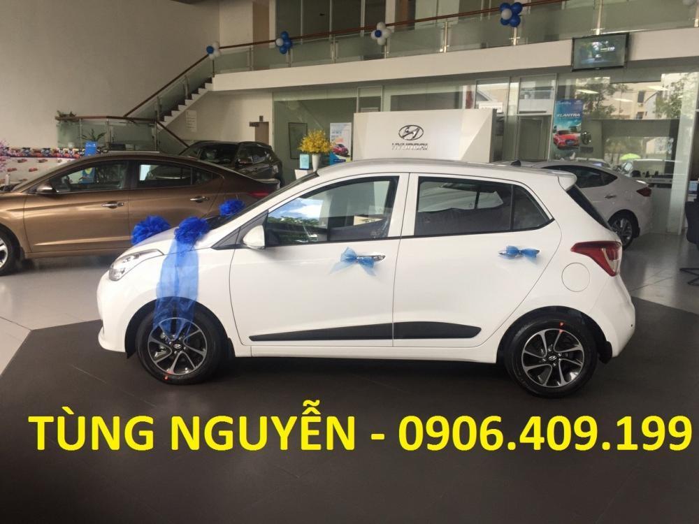 Cần bán Hyundai Grand i10 đời 2019, màu trắng