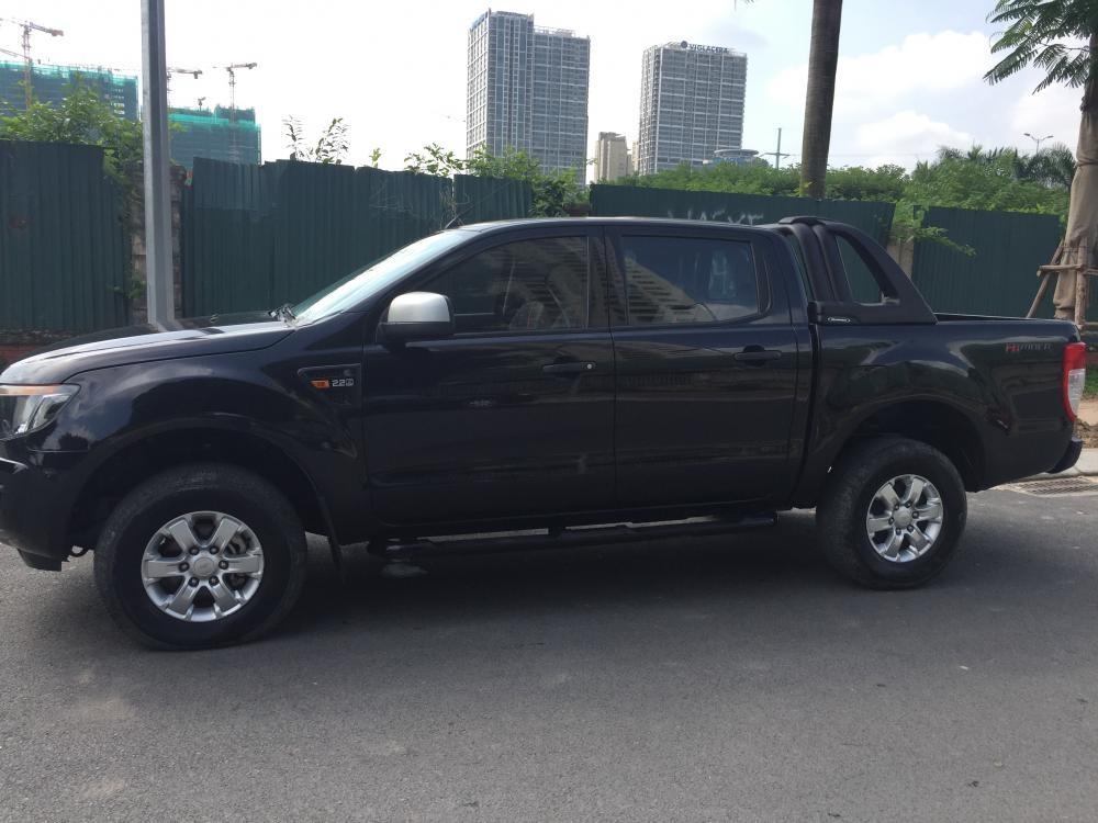Cần bán lại xe Ford Ranger 2.2 AT 2014, màu đen, xe nhập