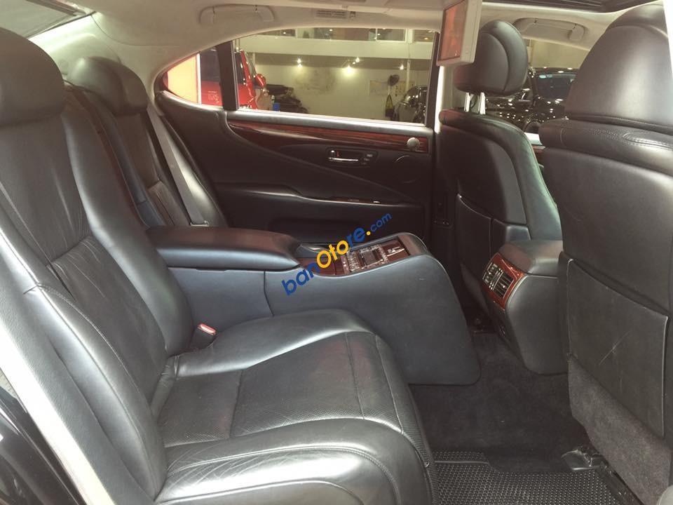 Cần bán lại xe Lexus LS 460L sản xuất 2008, màu đen, xe nhập