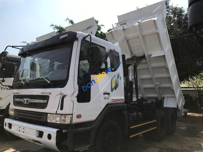 Bán Daewoo Novus đời 2014, màu trắng, công ty xuất hoá đơn