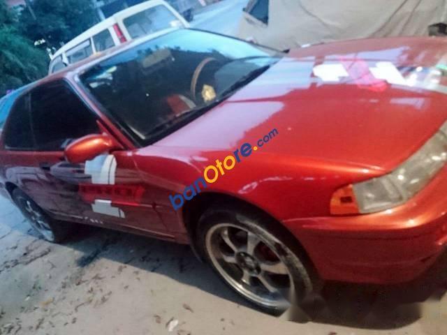 Cần bán lại xe Honda Integra sản xuất 1990, màu đỏ, giá 105tr
