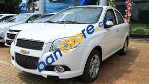 Cần bán Chevrolet Aveo LTZ 1.4 AT năm 2017, màu trắng, 495 triệu