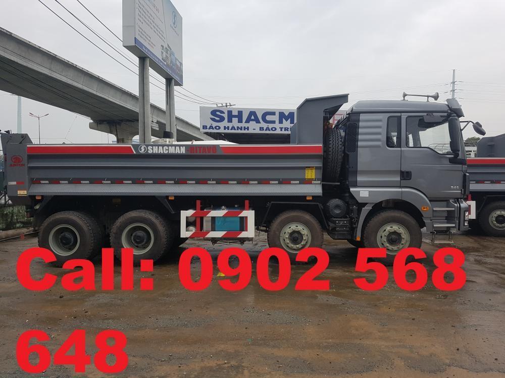 Cần bán xe tải ben Shacman 4 chân đời 2017, nhập khẩu chính hãng
