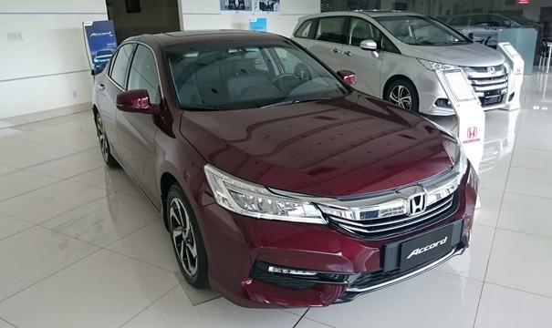 Cần bán xe Honda Accord 2.4s sản xuất năm 2019, màu đỏ, xe nhập
