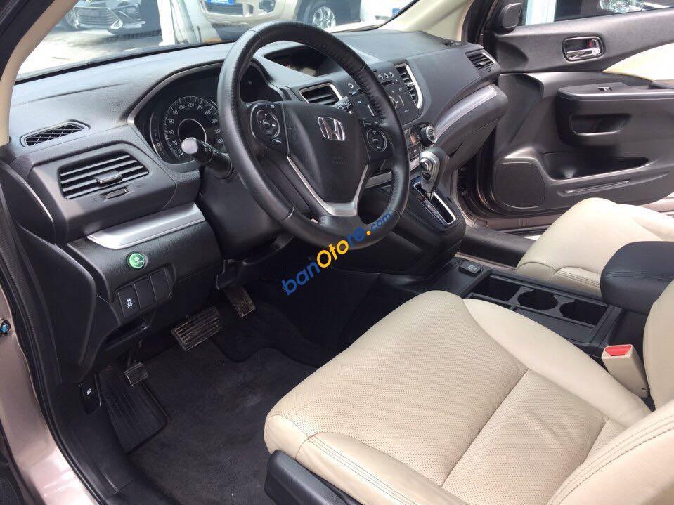 Xe Honda CR V 2.0AT năm 2015, màu nâu