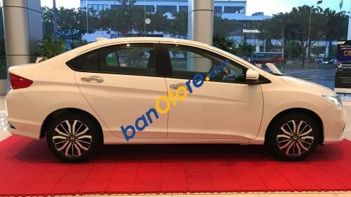 Cần bán xe Honda City 1.5 AT năm sản xuất 2017, màu trắng, 568 triệu