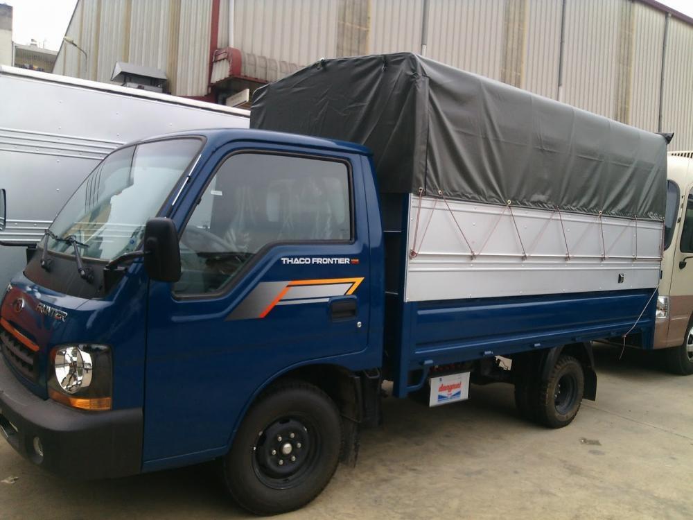 Thaco Kia 1,25 tấn thùng mui bạt, kín mới 100% liên hệ 0984694366