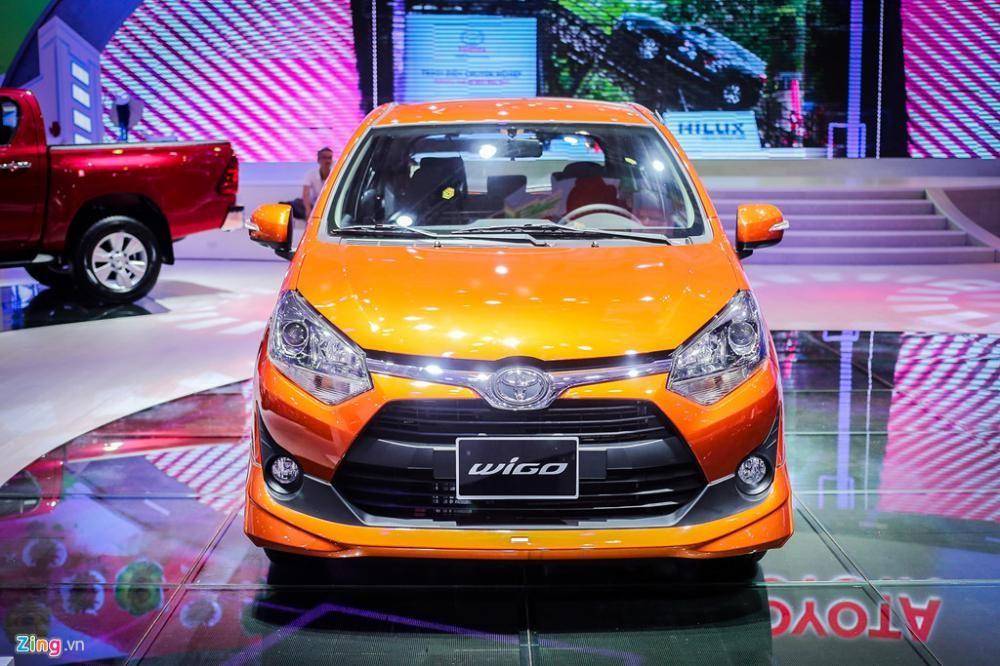 Toyota Wigo 2018 nhập khẩu (số sàn+ tự động) rẻ nhất, xe đủ màu, trả góp chỉ 110tr có xe - LH: 0973530250