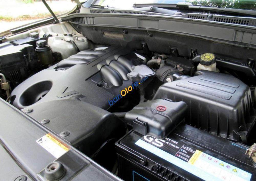 Bán xe Hyundai Veracruz đời 2008, màu bạc, nhập khẩu
