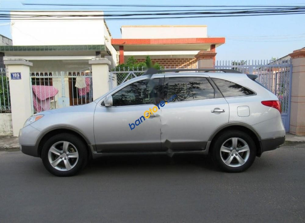 Bán Hyundai Veracruz đời 2008, màu bạc, nhập khẩu như mới, giá 475tr