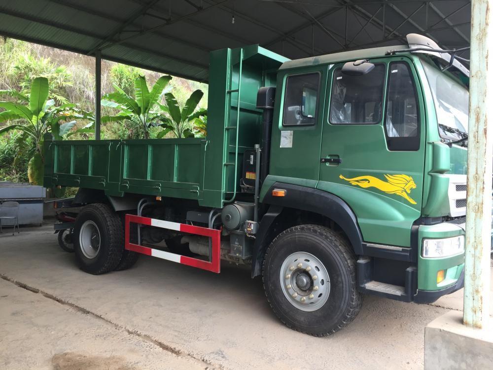 Cần bán Howo xe ben 2017, xe nhập khẩu tải trọng 8.1T cầu dầu