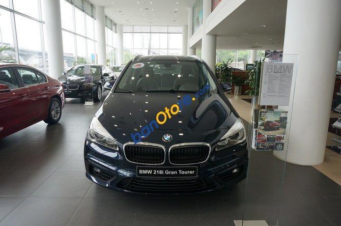 Cần bán BMW 2 Series 218I Gran Tourer AT đời 2017, màu xanh