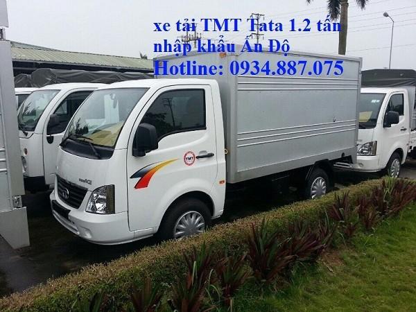 Bán xe tải TaTa 1.2 tấn (1t2) Ấn Độ thùng dài 2.6m máy dầu