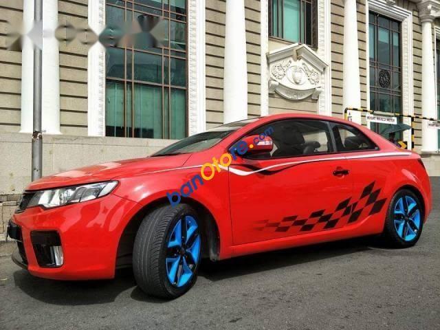 Bán xe Kia Forte Koup đời 2010, màu đỏ
