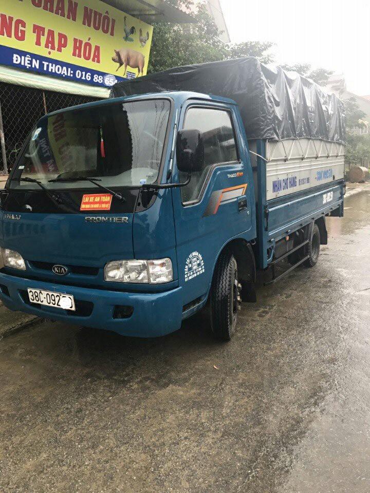 Hải Phòng bán xe tải Thaco Kia 2,4 tấn K165 thùng bạt đời 2016, giá rẻ 305 triệu