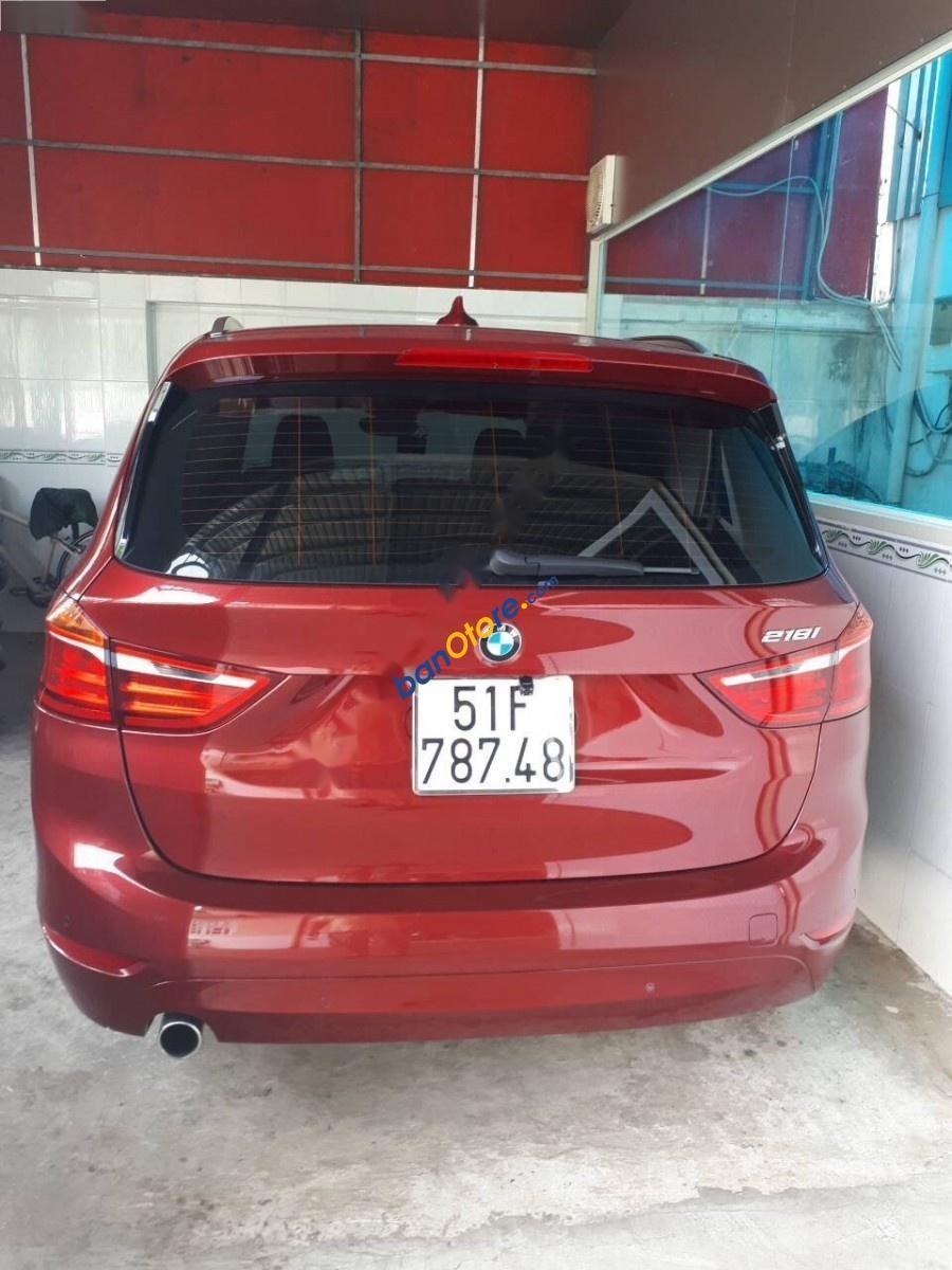 Cần bán gấp BMW 2 Series 218i Gran Tourer 2016, màu đỏ, nhập khẩu nguyên chiếc còn mới