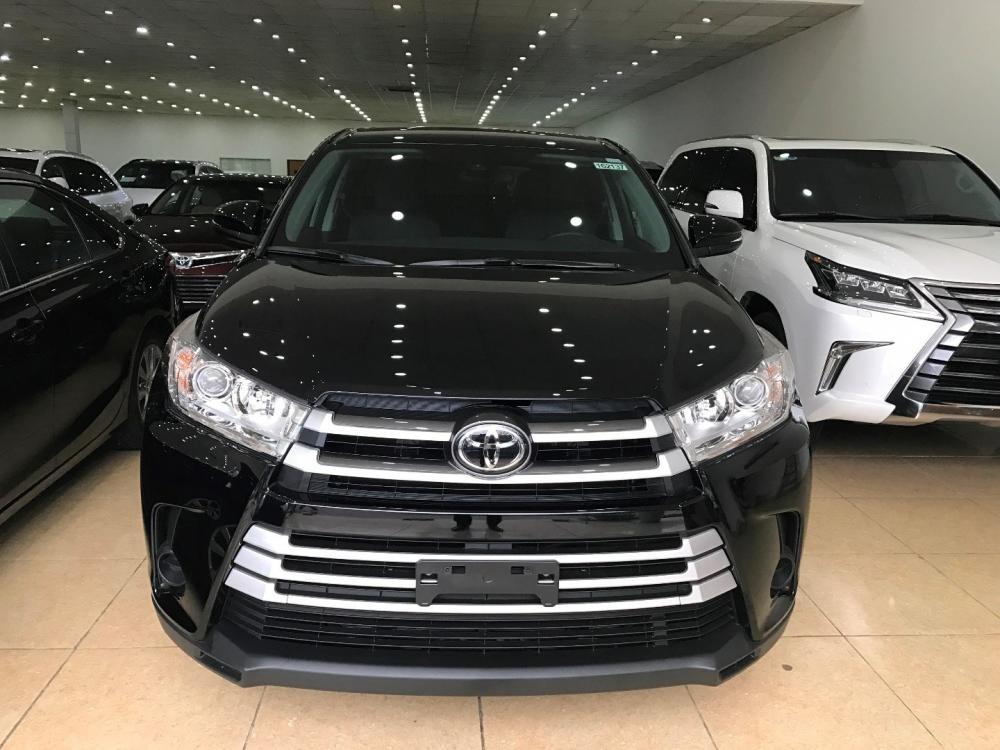 Bán Toyota Highlander đời 2017, màu đen, nhập khẩu chính hãng