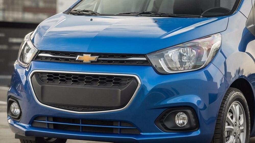 Bán xe Chevrolet Spark đời 2017, màu xanh lam, nhập khẩu chính hãng