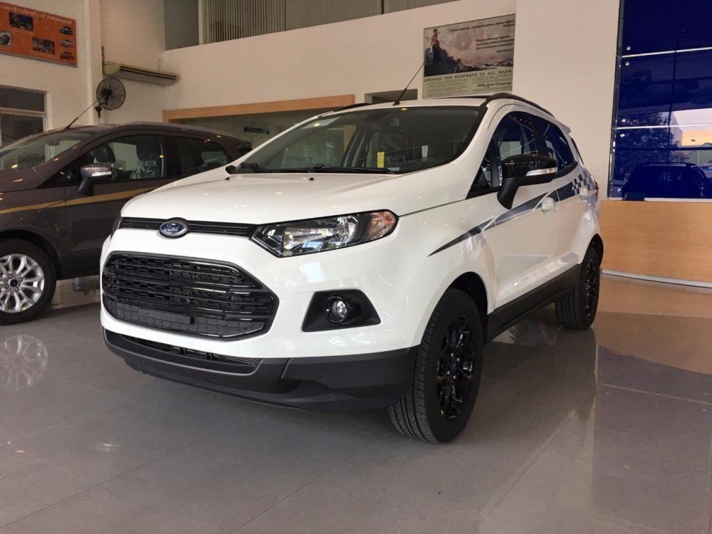 Bán xe Ford EcoSport đời 2017, màu trắng, nhập khẩu chính hãng