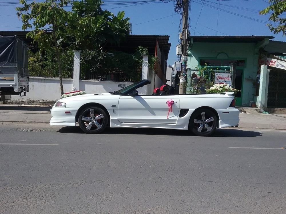 Bán Ford Mustang 1995, màu trắng, nhập khẩu, chính chủ