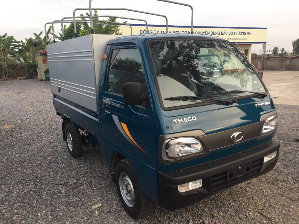 Bán xe Thaco TOWNER 800 thùng bạt 2020 hoàn toàn mới