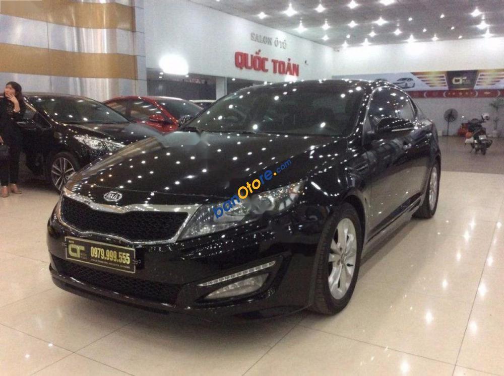 Cần bán xe Kia K5 2.0AT đời 2010, màu đen, xe nhập số tự động