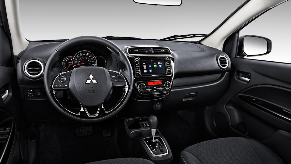 Nội thất xe Mitsubishi Attrage 2018 đầy đủ tiện nghi