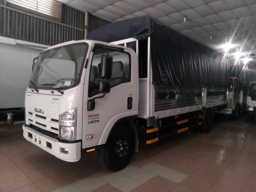 Bán ô tô Isuzu NQR năm sản xuất 2018, màu trắng, giá tốt