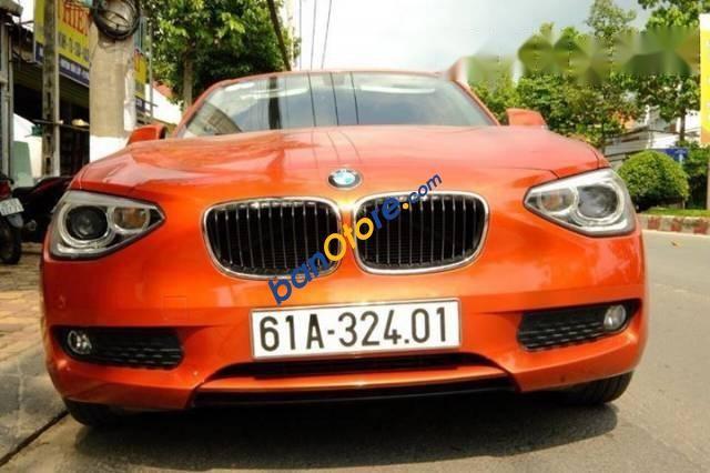 Chính chủ bán BMW 1 Series 116i đời 2014, màu cam