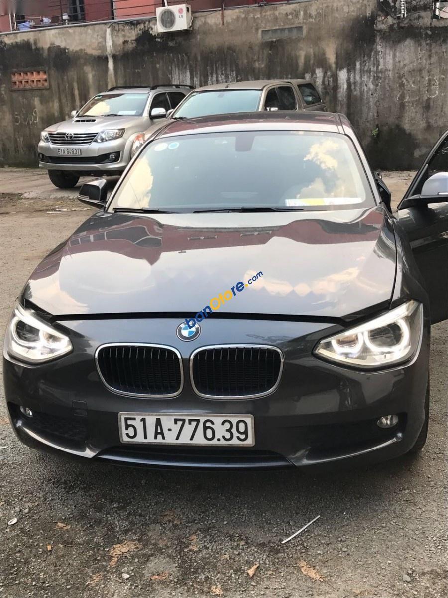 Cần bán xe BMW 1 Series 116i năm 2014, màu xám, xe nhập chính chủ