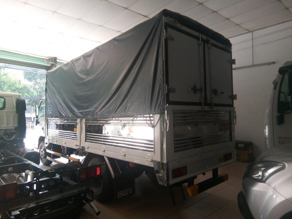Isuzu 1.99 tấn, thùng bạt 4.4m giá tốt nhất, KM: Máy lạnh, 12 phiếu bảo dưỡng, radio MP3