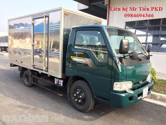Chuyên bán xe tải Thaco Kia K165 tải 2,4 tấn đầy đủ các loại thùng liên hệ 0984694366, hỗ trợ trả góp