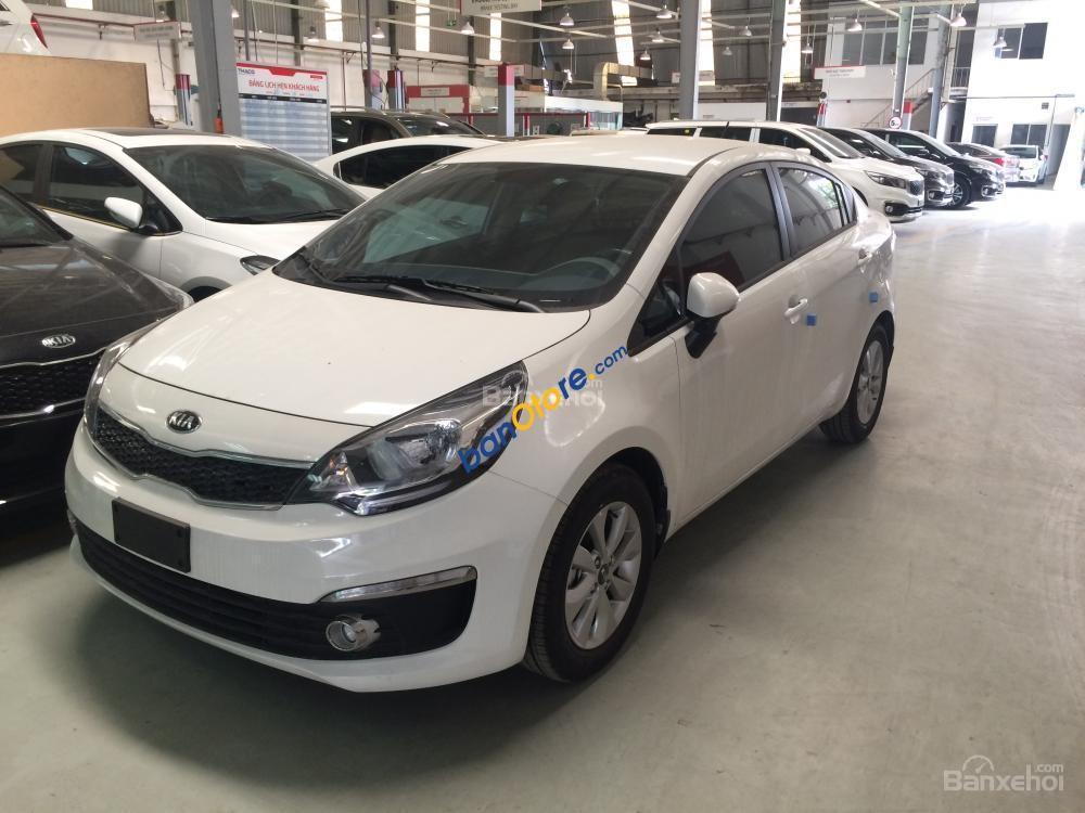 Bán Kia Rio 1.4 AT đời 2018, màu trắng, nhập khẩu chính hãng