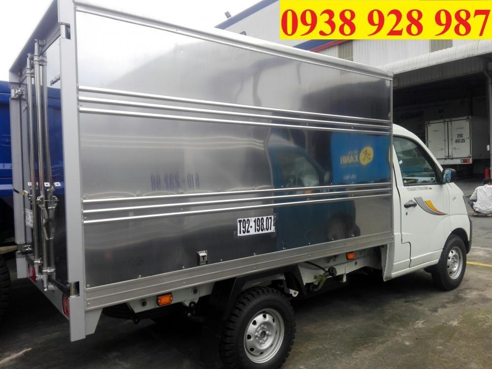 Thaco Towner 990 tải trọng 990 kg, Euro IV, máy lạnh cabin, đời 2017, hỗ trợ trả góp 75% có xe giao liền