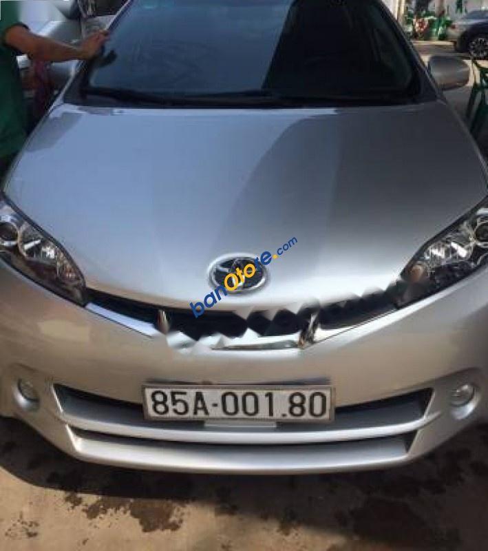 Cần bán lại xe Toyota Wish năm 2011, màu bạc, nhập khẩu số tự động, 646tr