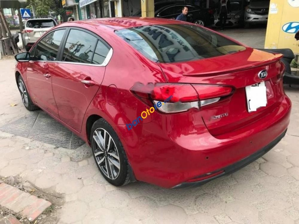 Cần bán gấp Kia Cerato đời 2016, màu đỏ, giá tốt