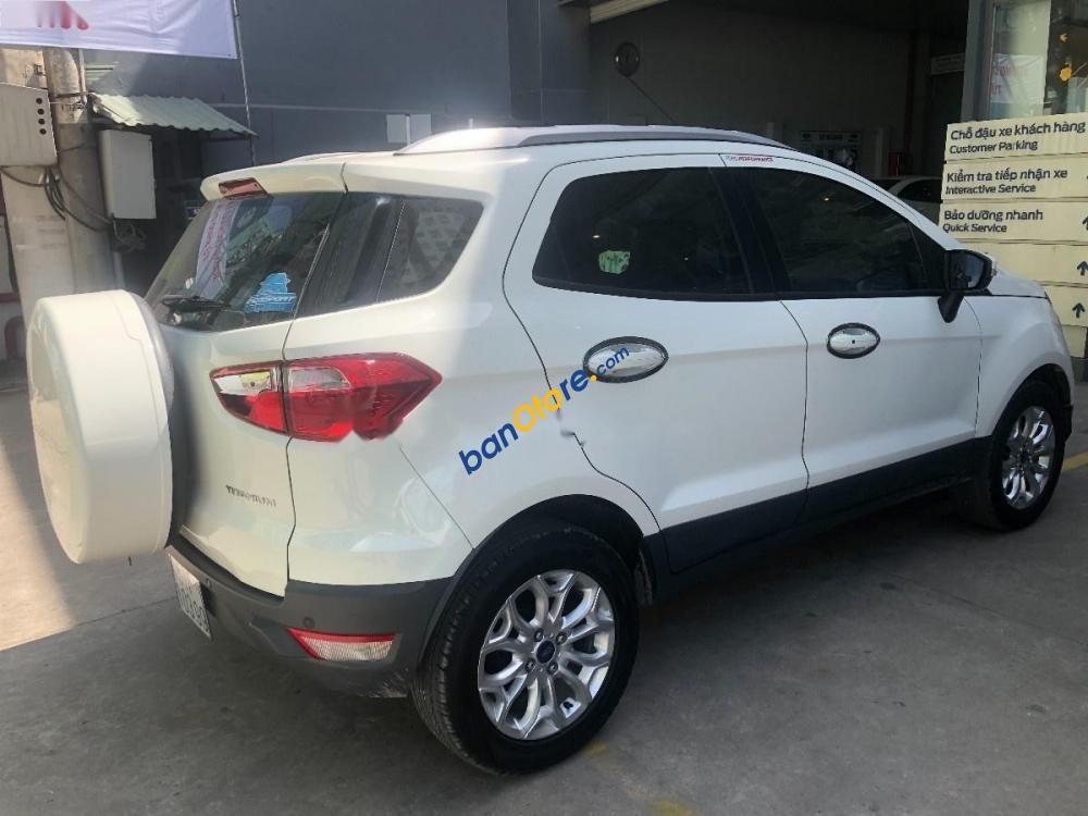 Cần bán xe Ford EcoSport 1.5L Titanium đời 2015, màu trắng, 545tr