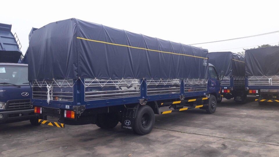 Xe tải trả góp   Xe tải Hyundai HD120SL tải 8 tấn thùng dài 6m