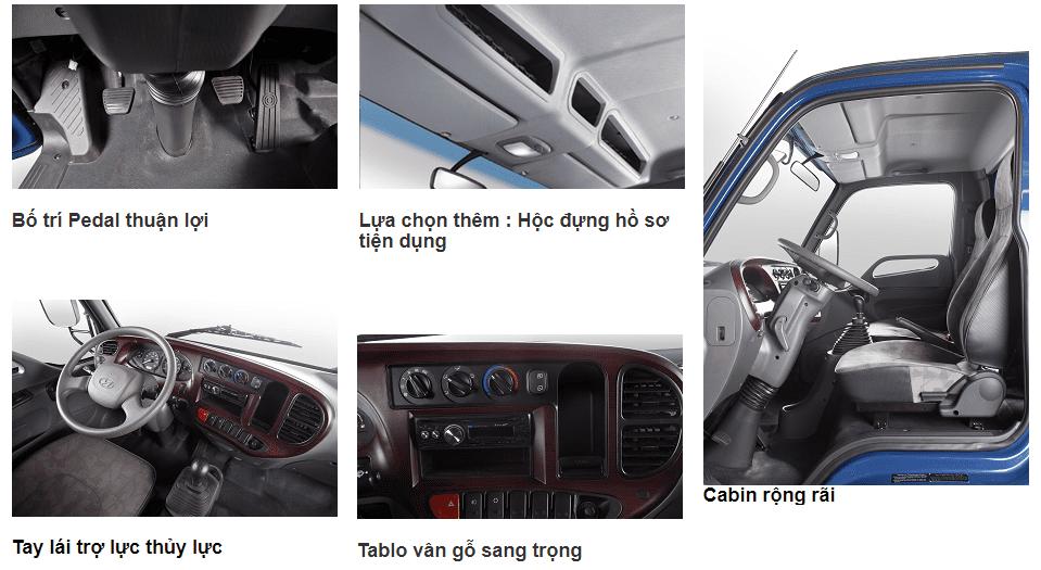 Xe tải trả góp | Xe tải Hyundai HD120SL tải 8 tấn thùng dài 6m