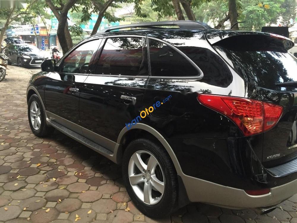 Cần bán gấp Hyundai Veracruz 3.0 V6 đời 2009, màu đen, xe nhập chính chủ
