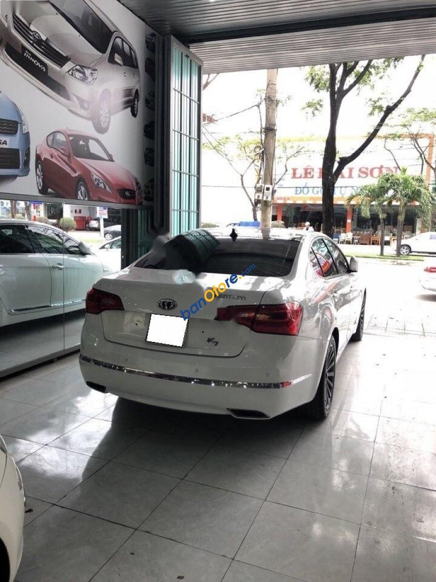 Cần bán Kia K7 2.4 AT năm 2010, màu trắng, nhập khẩu ít sử dụng