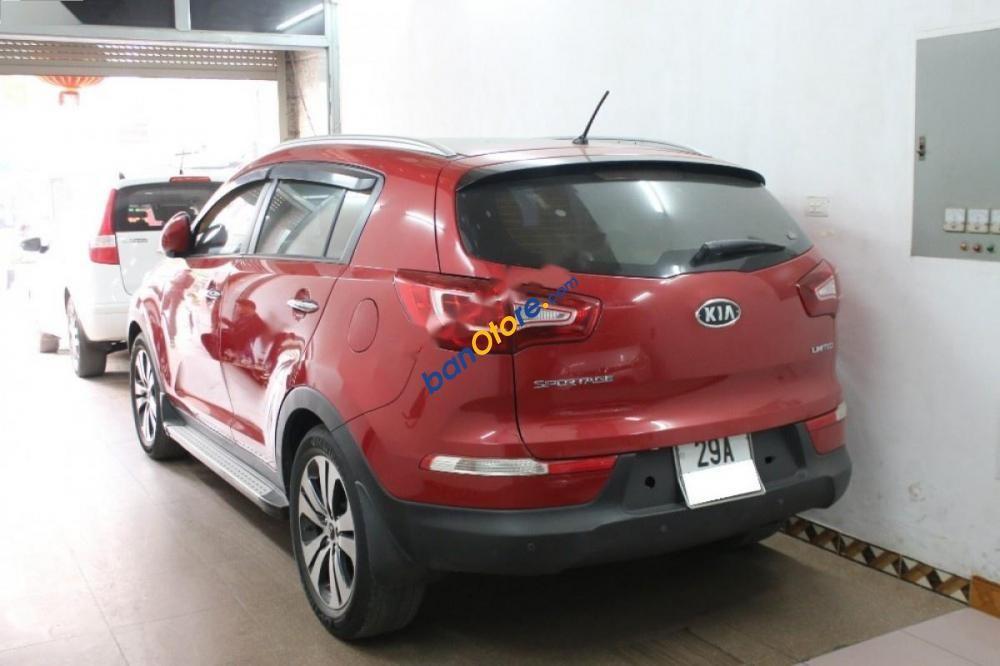 Bán ô tô Kia Sportage Limited 2.0 AT 2010, màu đỏ, nhập khẩu