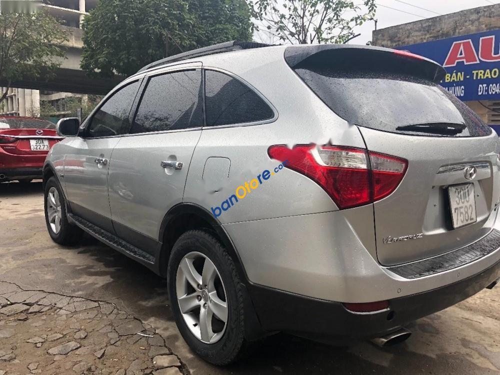 Bán Hyundai Veracruz 3.0 V6 năm sản xuất 2009, màu bạc, nhập khẩu