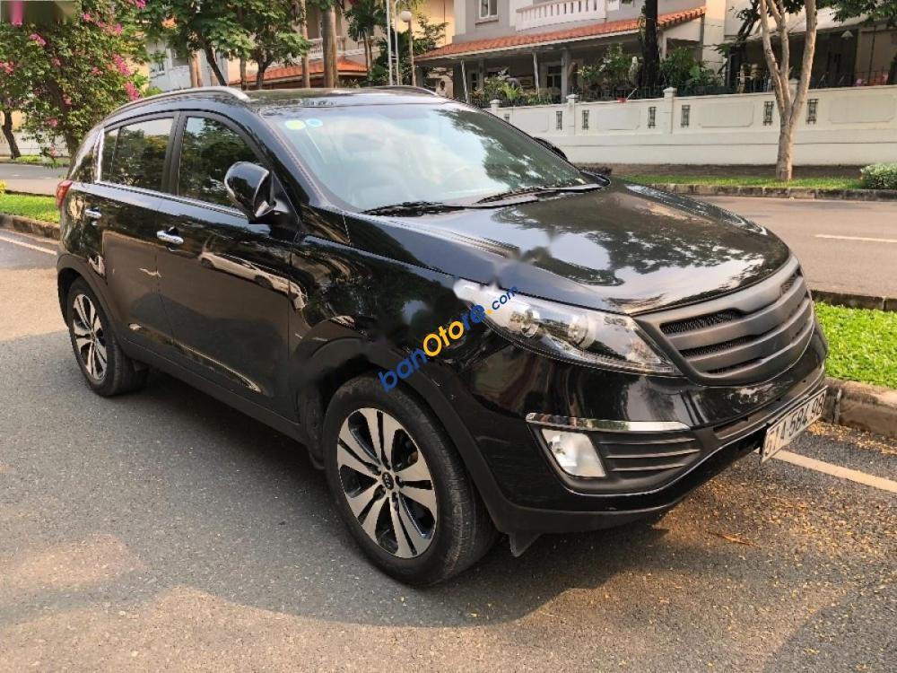 Bán ô tô Kia Sportage đời 2013, màu đen, xe nhập