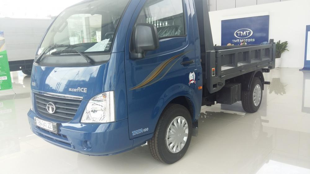 Bán xe ben Tata 1 tấn/ ben TATA 990kg máy dầu, giá ưu đãi tại Tp Hồ Chí Minh.
